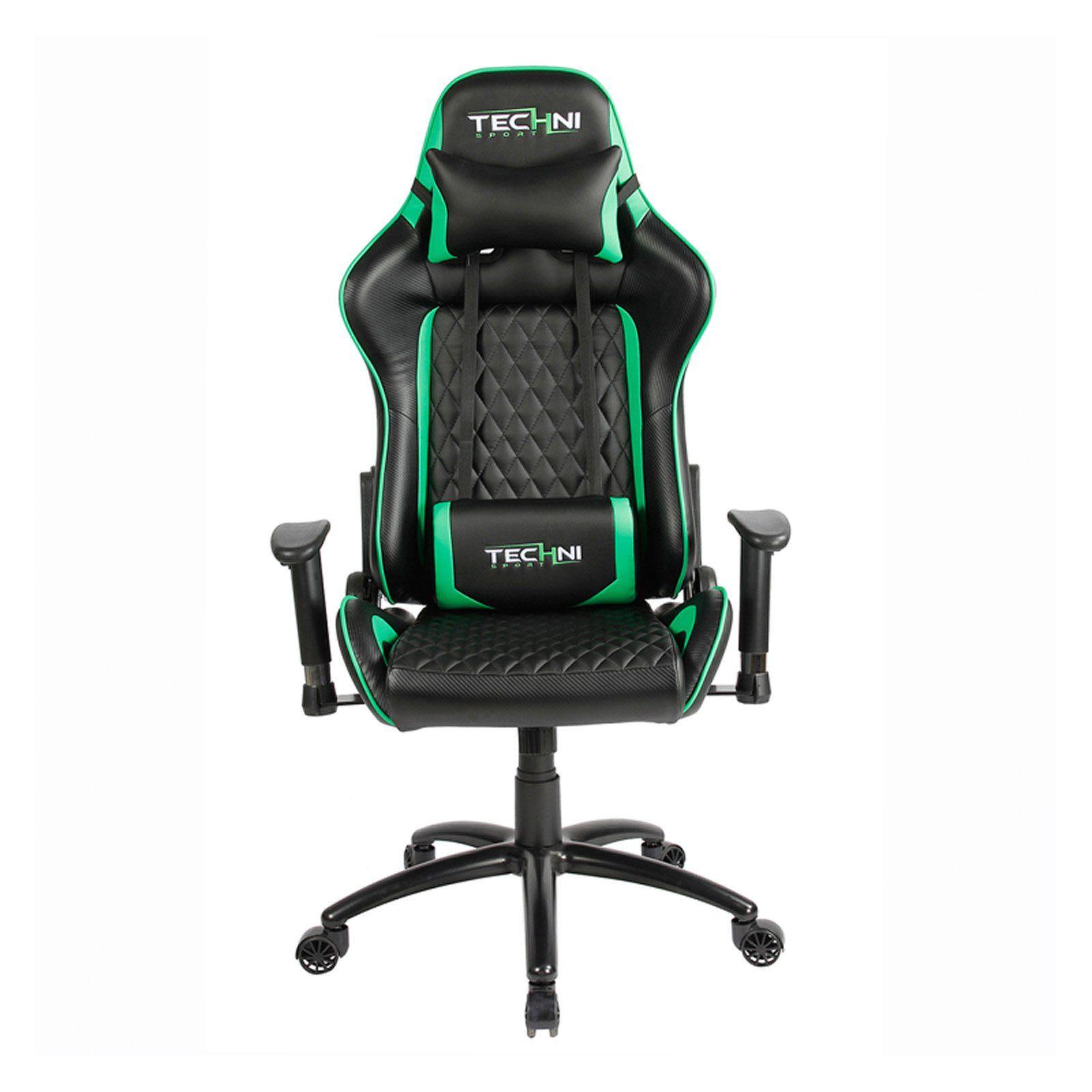 Astonishing Techni Mobili Ts 5000 Ergonomic High Back Racer Style Video Ibusinesslaw Wood Chair Design Ideas Ibusinesslaworg