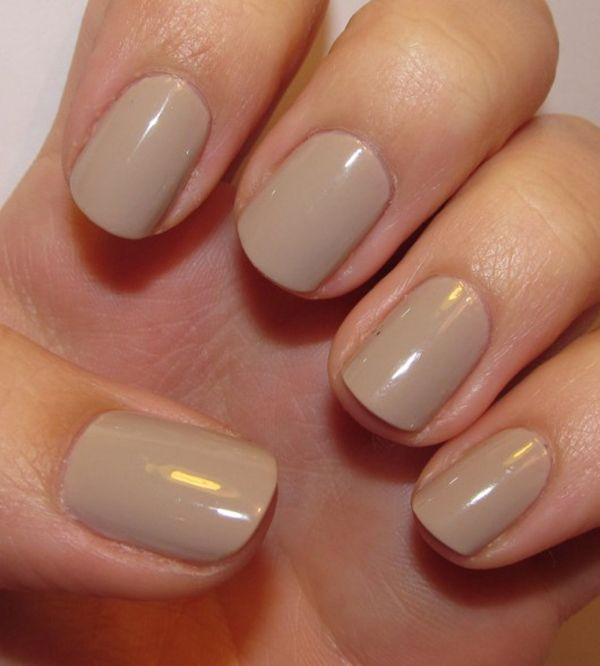uñas-cortas-nude | Nails | Pinterest