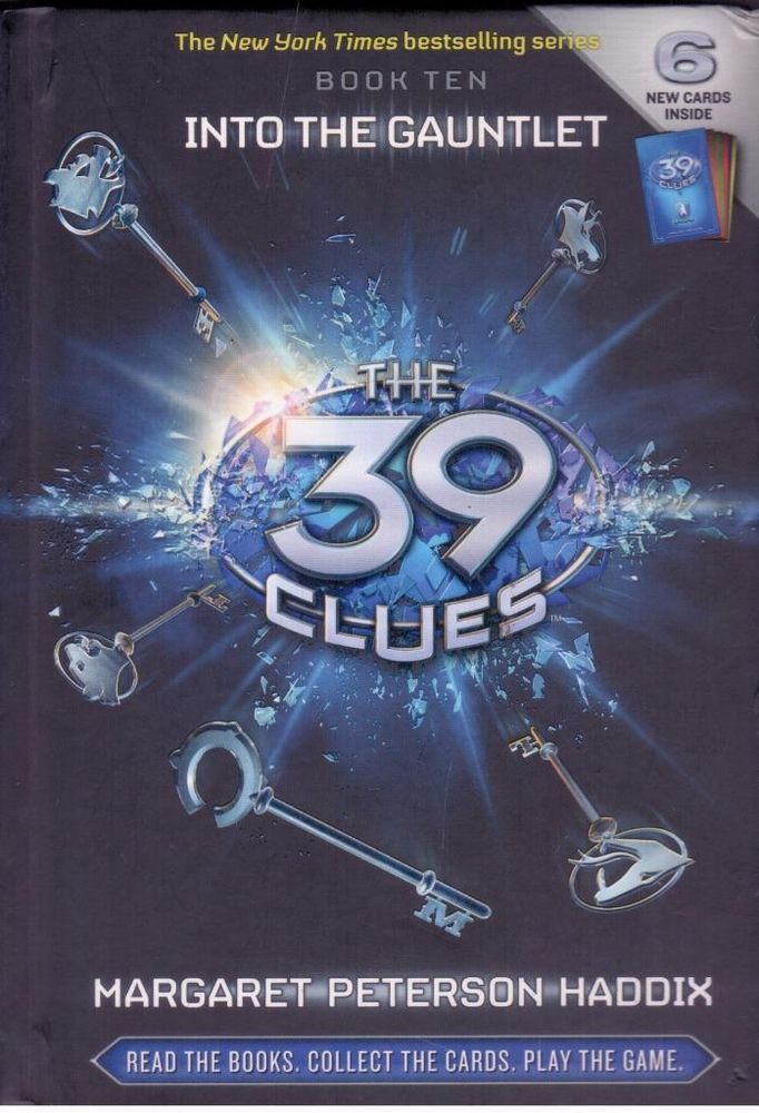 39 Clues #10 - Into The Gauntlet by Margaret Peterson Haddix- Hardcover  -S/Hand