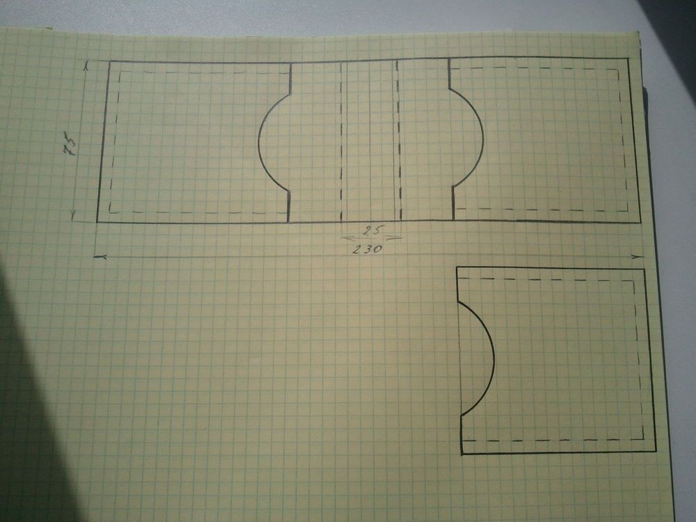 Вся дорога будет построена в большой коробке, у которой одну широкую боковину нужно отрезать