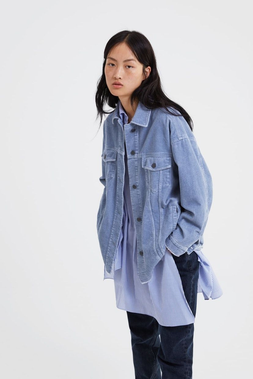 The 50 Zara Jacket Every Fashion Girl Will Be Wearing Come Spring Corduroy Jacket Jackets Zara Jacket [ 1242 x 828 Pixel ]