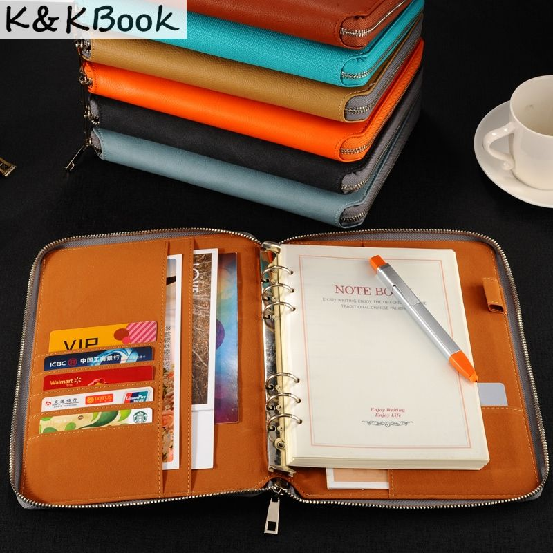 ZJY Vintage Notepad Notebook Diary Daily Memos Planner Agenda Notebook Pu Leather Sketchbook with Lock Notebooks