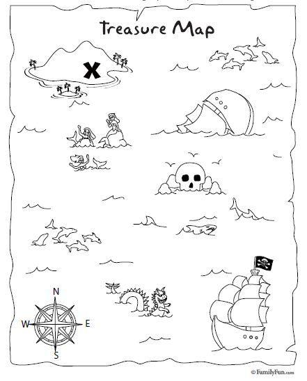 Mapa Del Tesoro Pirata Para Niños.Tutorial Para Hacer Invitaciones De Mapa Del Tesoro En 2019
