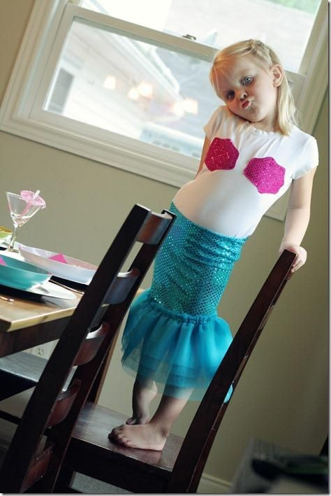 Diy fairy costume some more cute mermaid party ideas diy mermaid diy fairy costume some more cute mermaid party ideas diy mermaid skirt tulle diy halloween diy costumes solutioingenieria Image collections