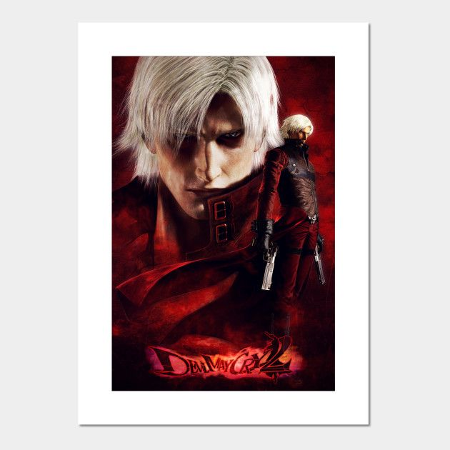 Devil May Cry 2 Ultimate Dante Tribute Posters and Art Prints | Displate thumbnail