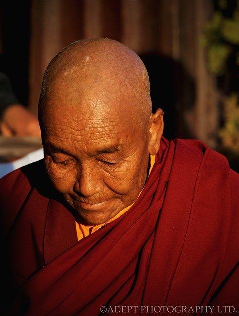 Buddhist Nun Boudhanath