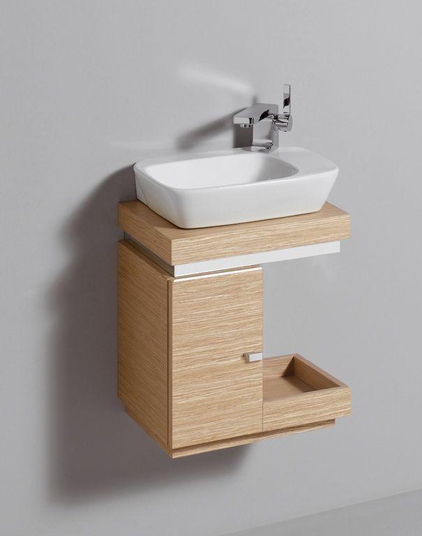 Silk Handwaschbecken Unterschrank Eiche Handwaschbeckenunterschrank Silk Mini Waschbecken Gaste Wc Unterschrank Mini Waschbecken