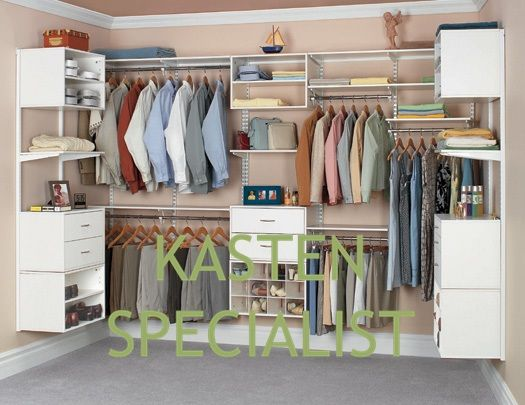 moderne inloopkast op maat - bedroom | pinterest - inloopkast, Deco ideeën