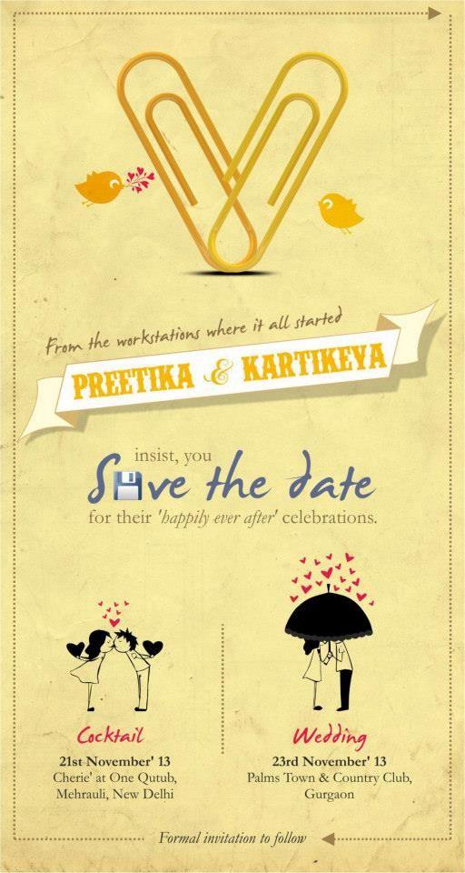 innovative wedding invites