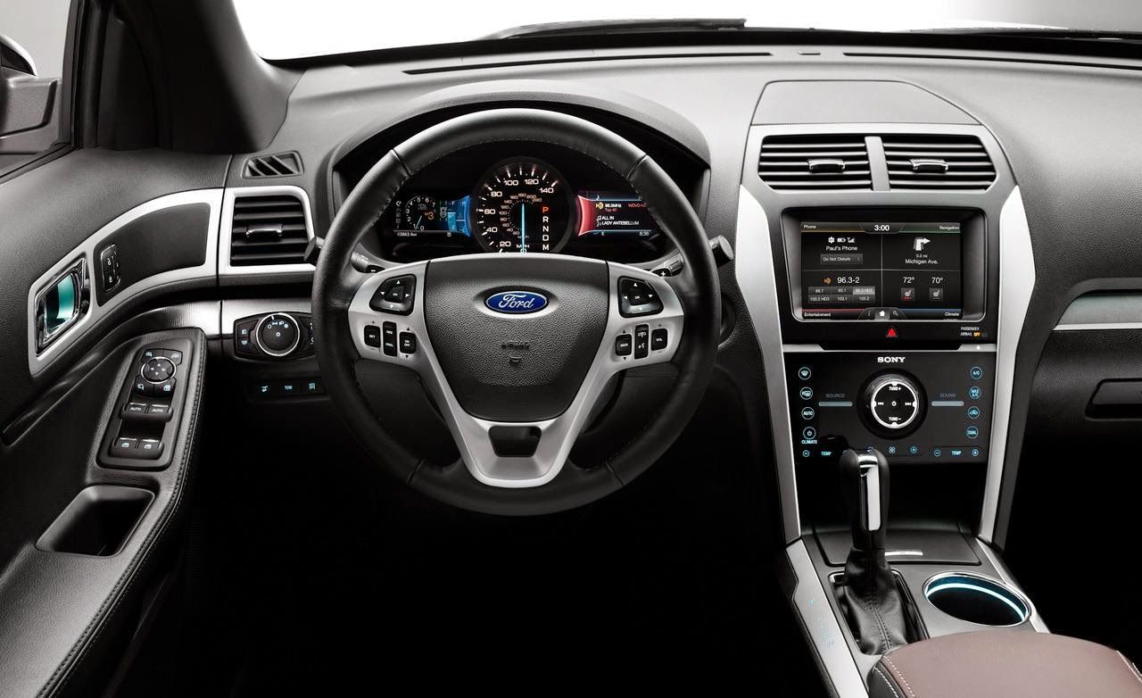 2015 Ford Explorer Ford Explorer Interior Ford Explorer