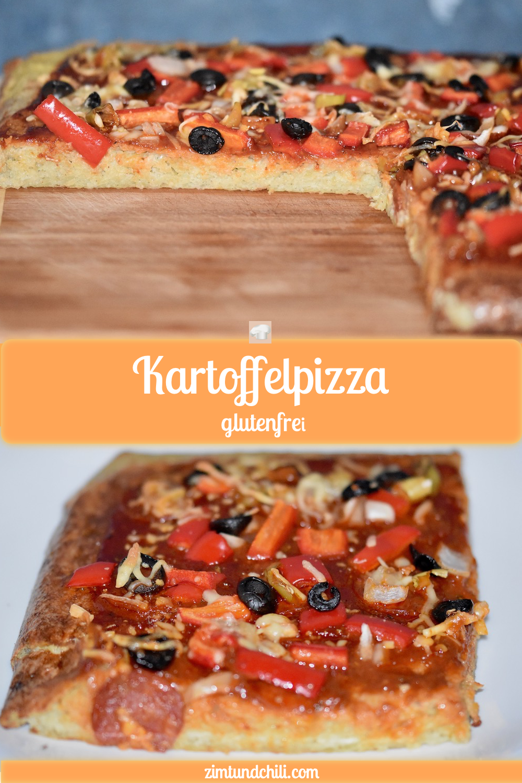 Kartoffelpizza – glutenfrei – Zimt & Chili  – Pizza