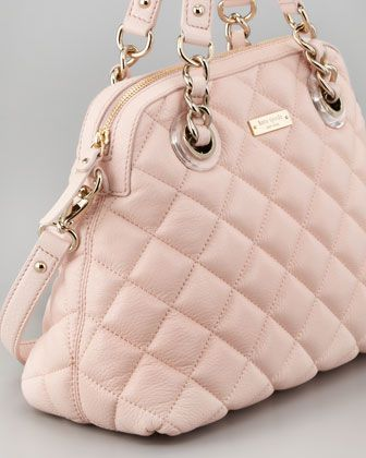 kate spade new york gold coast georgina satchel in pink | Wear ... : kate spade red quilted bag - Adamdwight.com