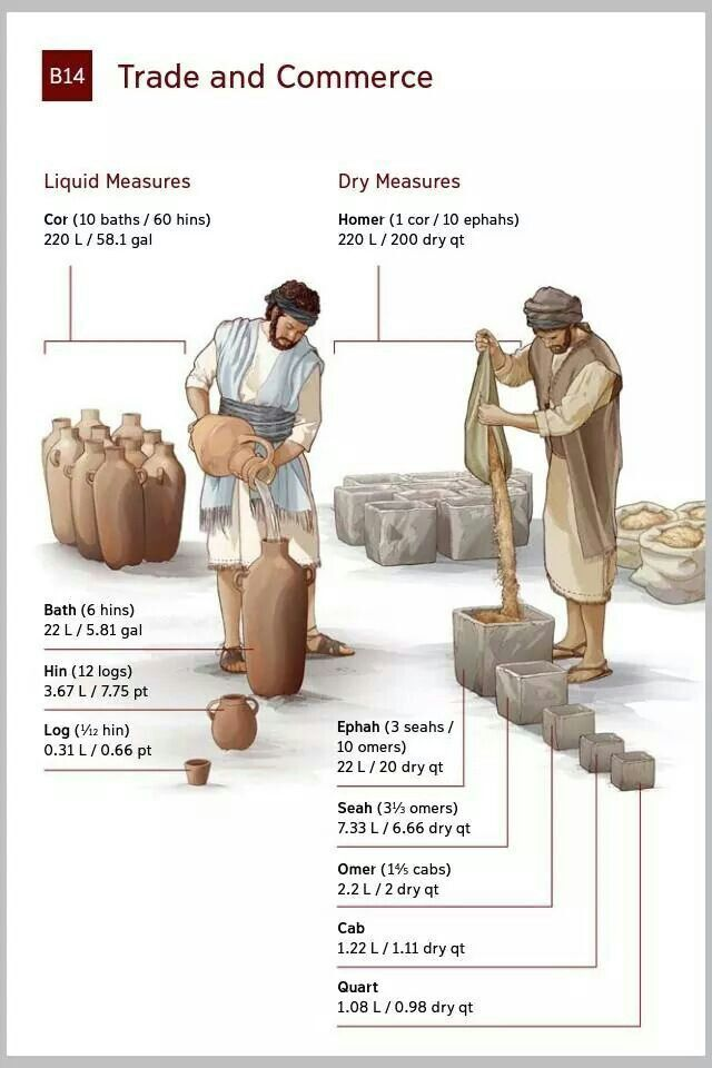 Image Result For Biblical Measurements Infographic