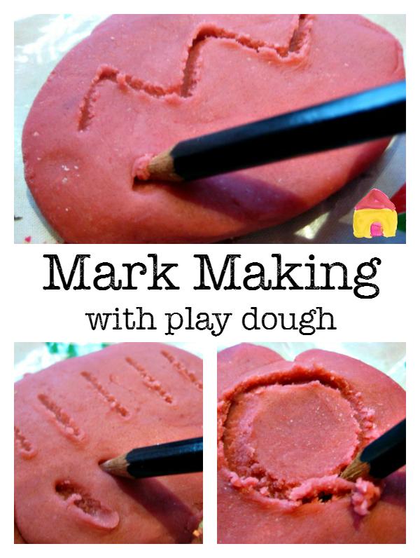 play dough recipe and ideas Mark making, Playdough