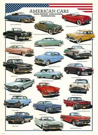 Das wär doch mal ne Sammlung: Amerikanische Autos der 50er Jahre ...