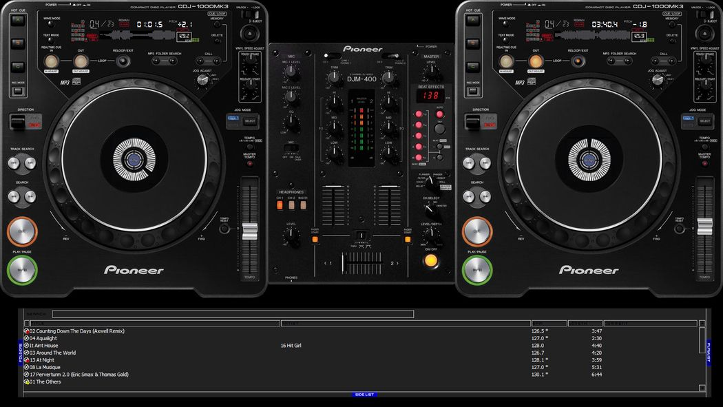 Pioneer Wallpaper Virtual DJ   Wallpapers - DJ deck by hussky ...