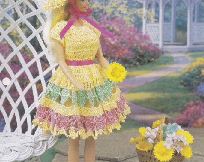Frühling Sommerkleid, Annies Modepuppe Kleidung häkeln Club Muster ...