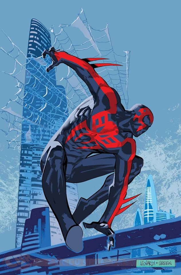 Spider-Man 2099 (vol. 2) #1 variant cover - Rick Leonardi