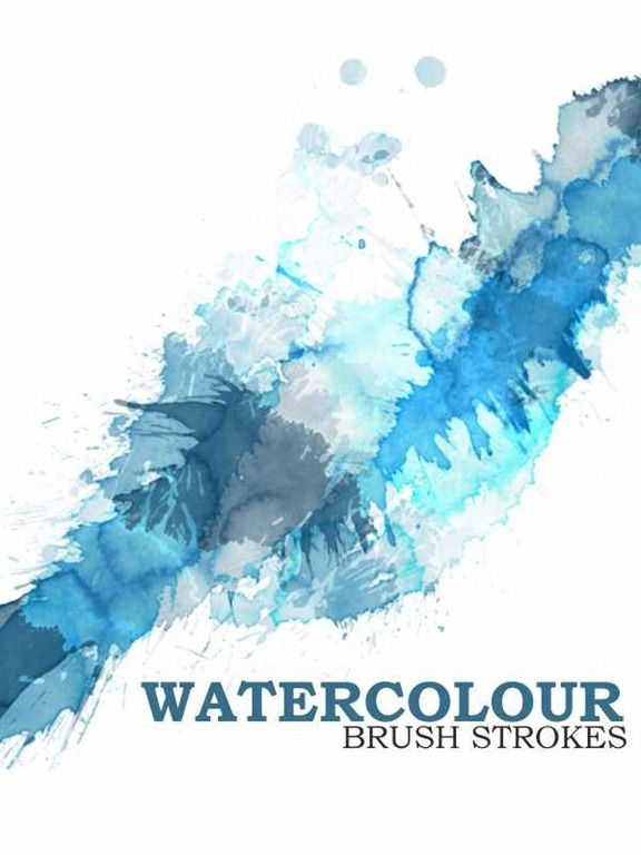 Watercolor Photoshop Brushes A1 Renewed Graphics Best