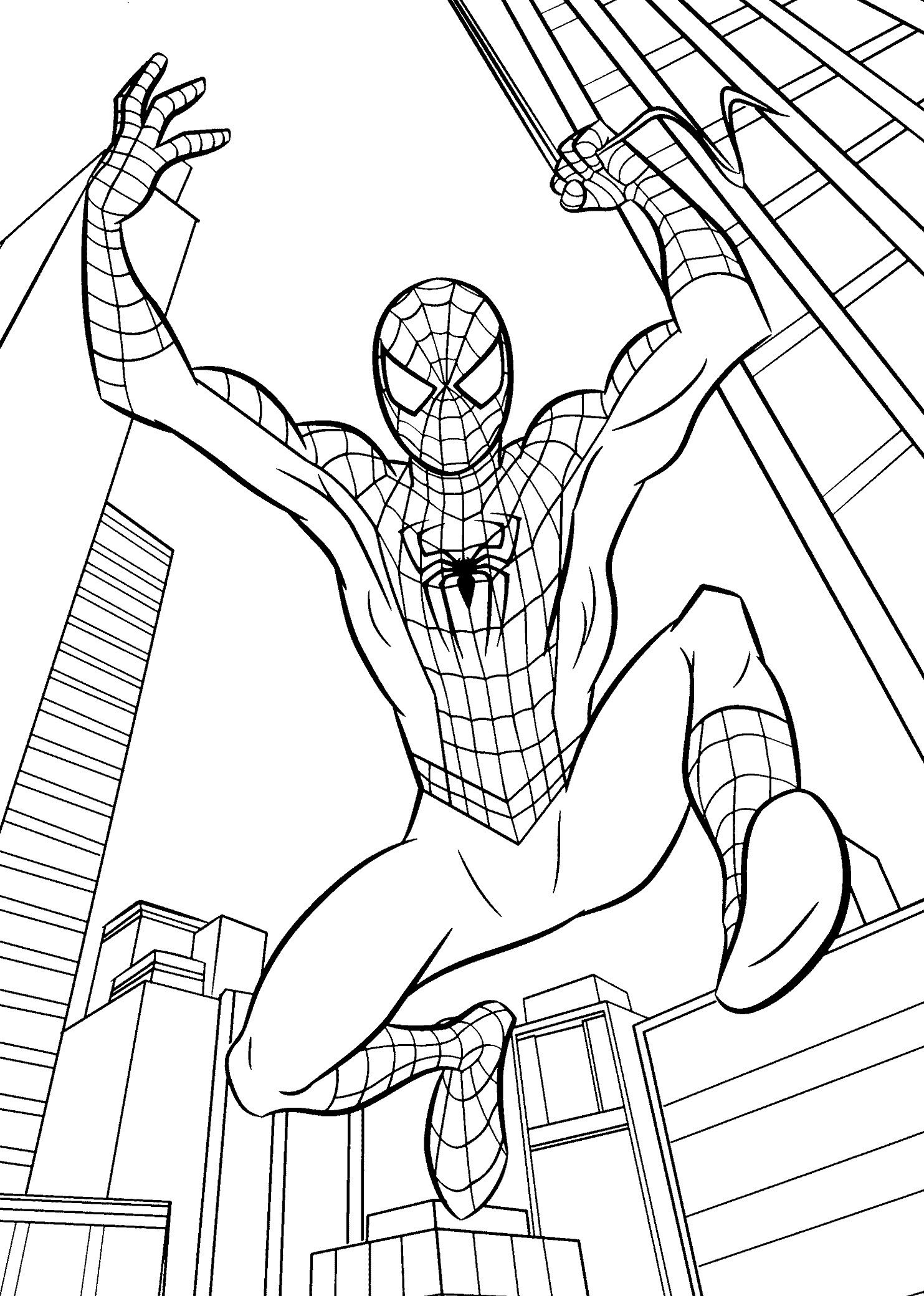 Unlock spider man colouring pages strange spiderman color sheet guaranteed printable coloring 3 civil war