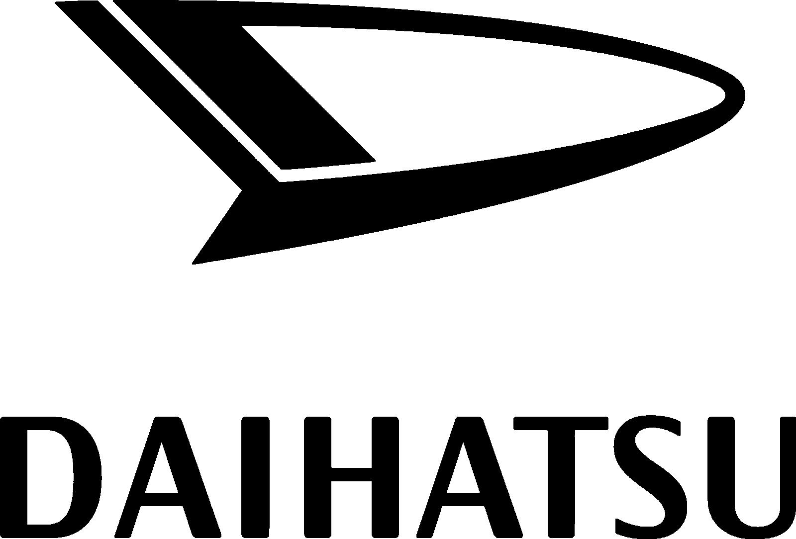 Daihatsu Logo Black
