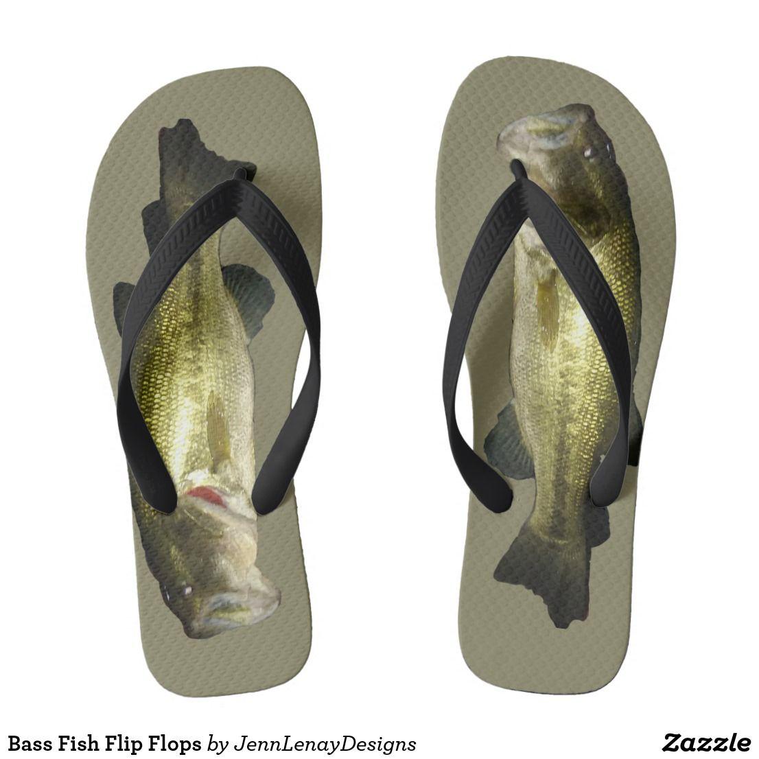 58cb39c50 Bass Fish Flip Flops
