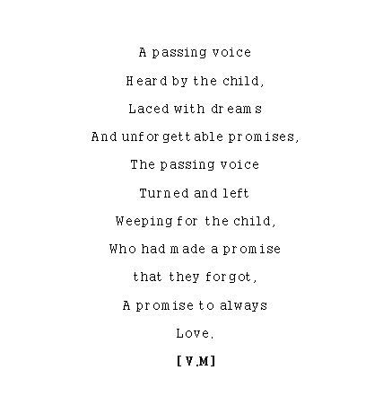 Growing Up Poems 5