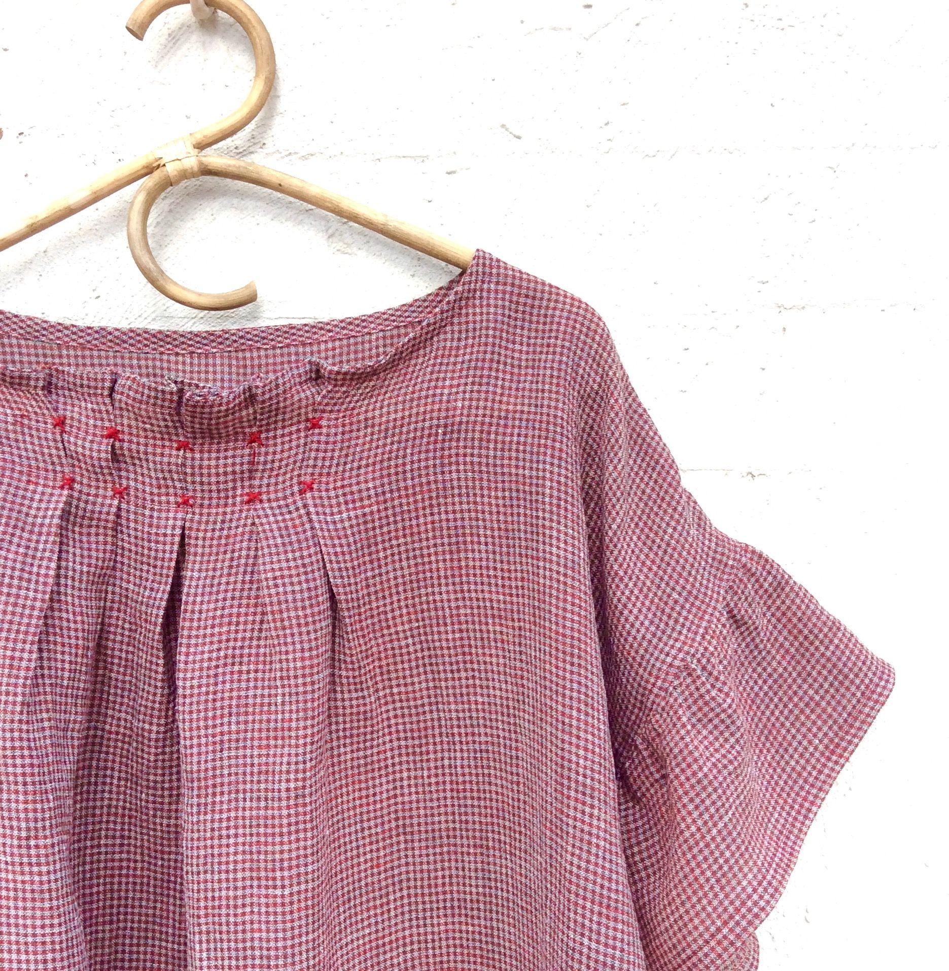 Pattern A From Stylish Dress Book By Yoshiko Tsukiori In Cotton Linen Blend Stylish Dress Book Linen Dress Pattern Stylish Dresses