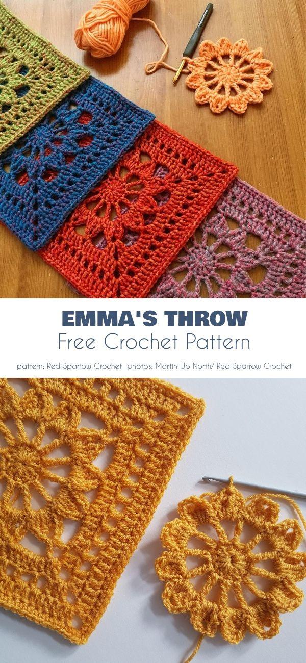 Photo of Emma Blanket, Free Crochet Patterns
