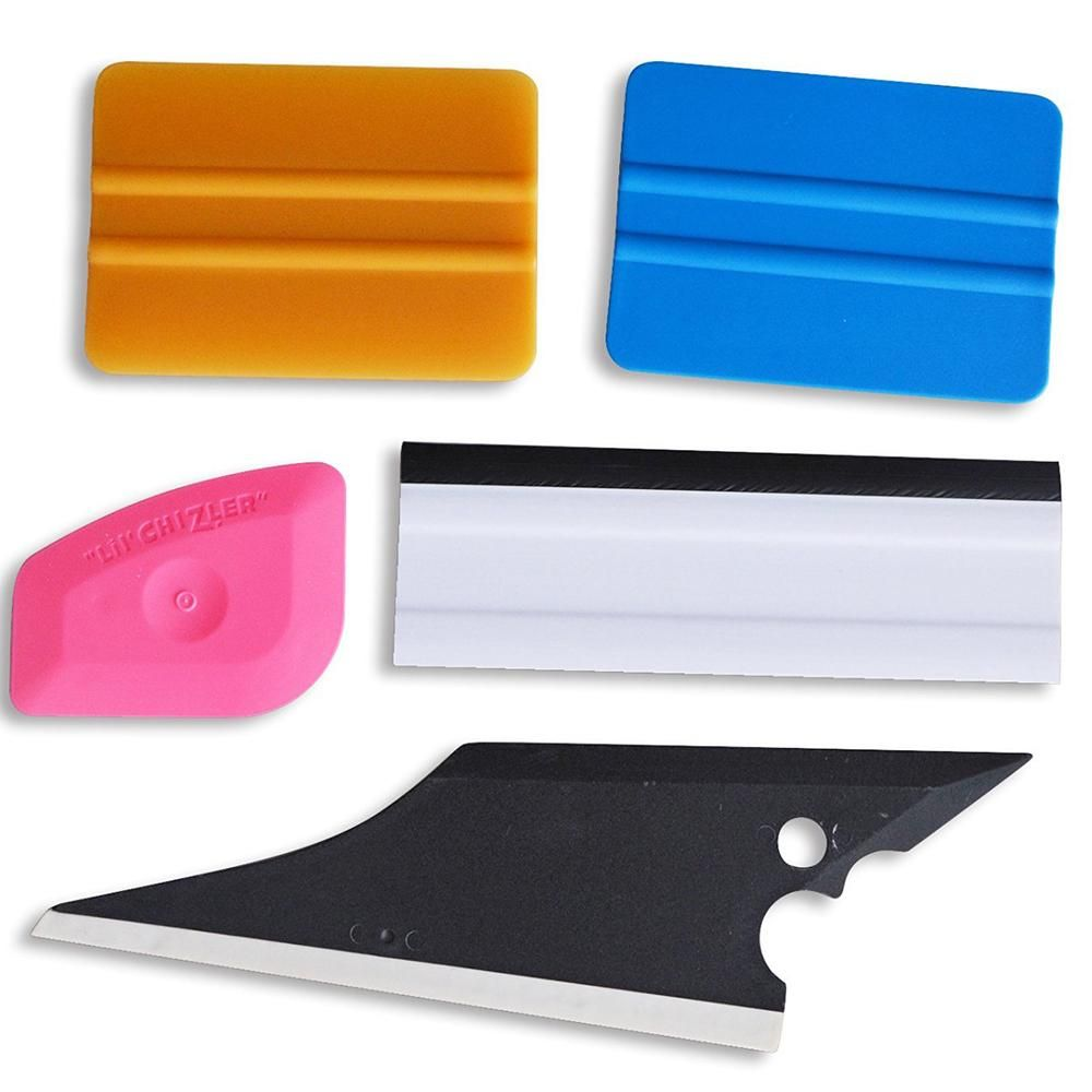 Ehdis Pro 5pcs Window Film Tint Tools Tint Squeegee Scraper Set
