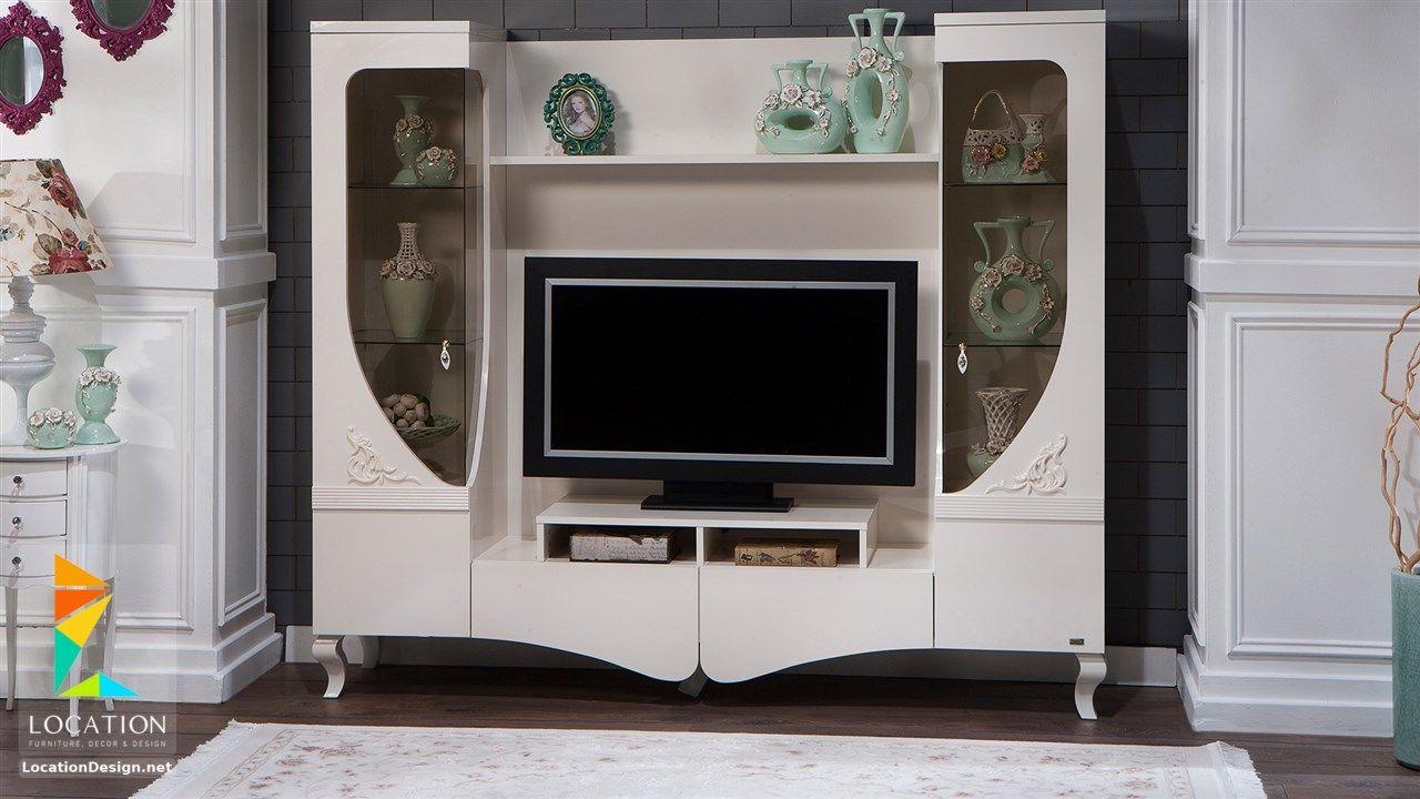احدث اشكال مكاتب شاشات بلازما Home Decor Home Tv Stand