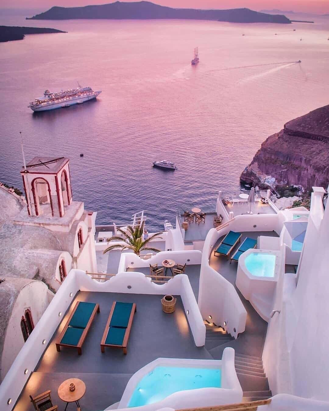 Beautiful Hotels Resorts On Instagram Purple Hues Over