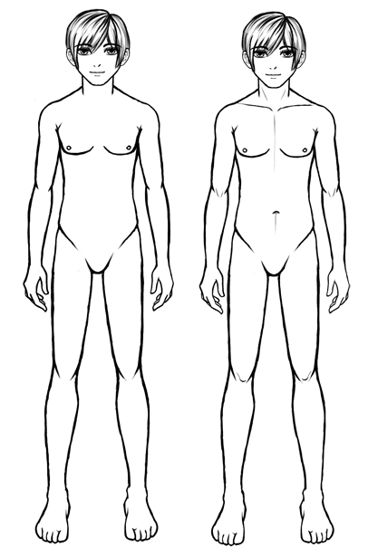 How to draw anime guys body proportions anime body proportions how to draw anime guys body proportions ccuart Gallery