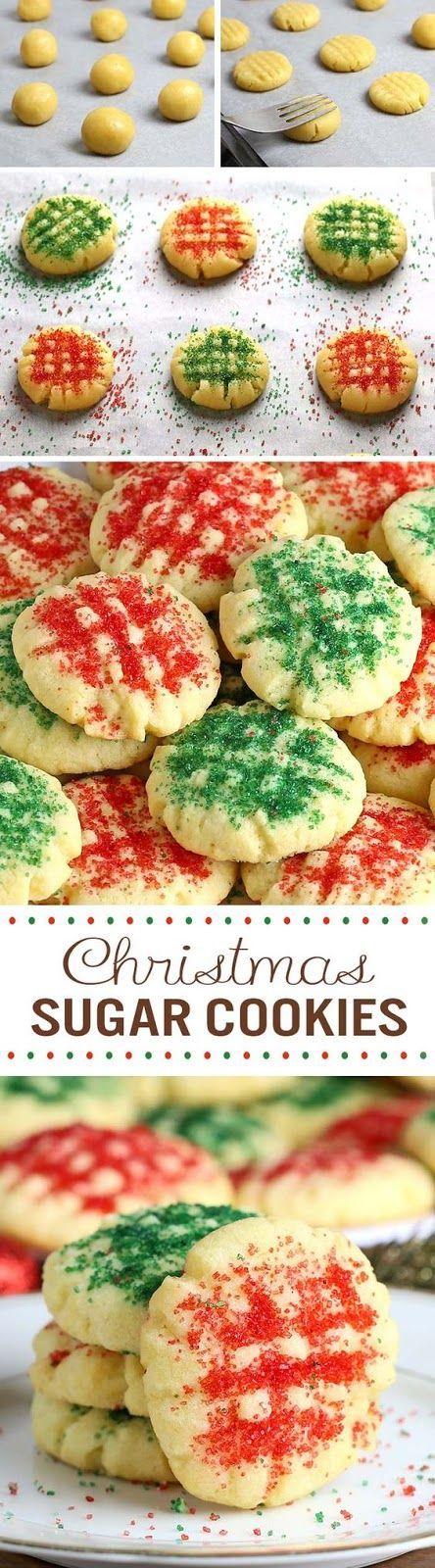 Traditional Christmas Holidays Cookie Recipes Christmas sugar
