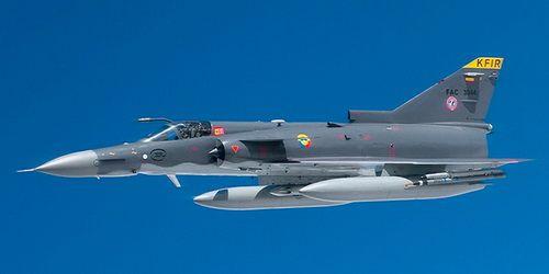 חיל האוויר Israel Air Force Aircraft Industries Kfir C 2 874