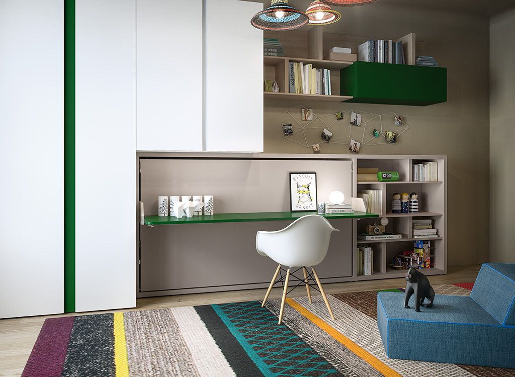 The kali board wall bed or murphy bed system is the for Italian wall bed system