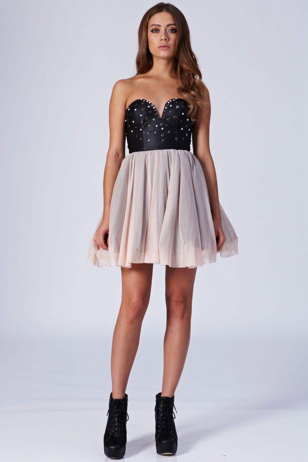 leather prom dress