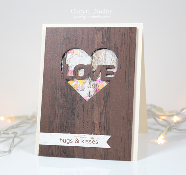 Hugs and Kisses by Glitter Me Silly - Cards and Paper Crafts at Splitcoaststampers