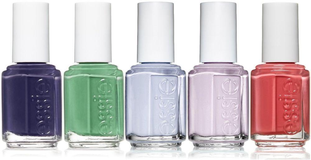 Essie Nail Polish Lacquer Color Set Lot of 5 Different Colors ...
