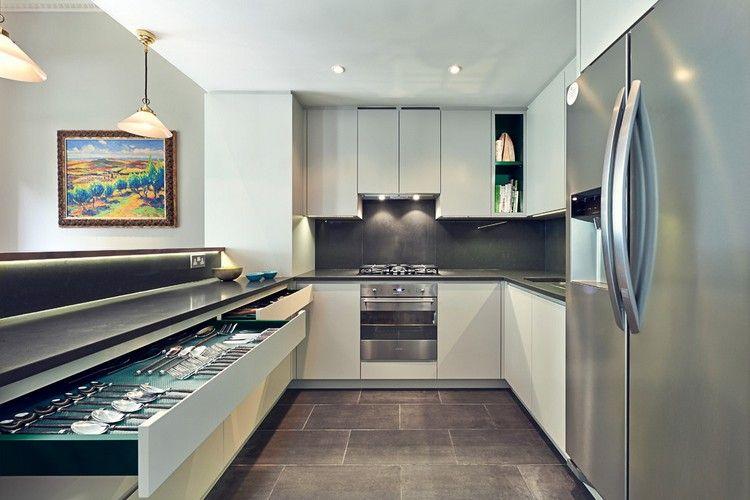 Küche In U Form Planen   50 Ideen Und Tipps