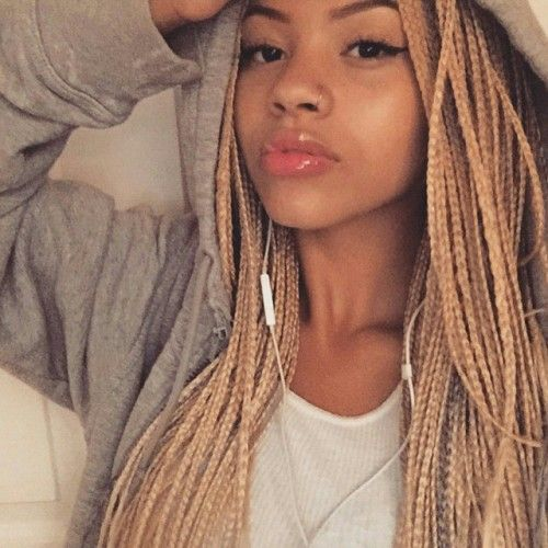 Peachy Box Braid Hairstyle 26 Hair It The Trend That Neva Goes Out Of Hairstyles For Men Maxibearus