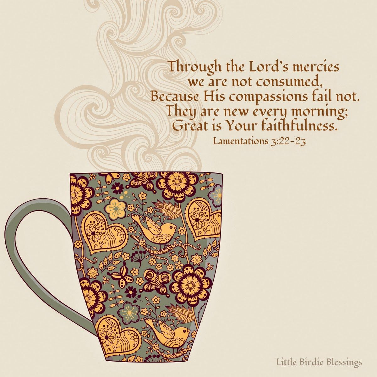 Little Birdie Blessings : A New Year with a Faithful God | Lord ...