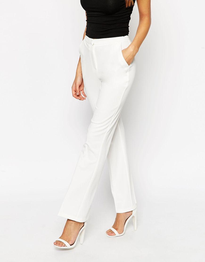 authorized site reliable reputation meticulous dyeing processes ASOS PETITE Kick Flare Trouser | white dresses | Asos petite ...