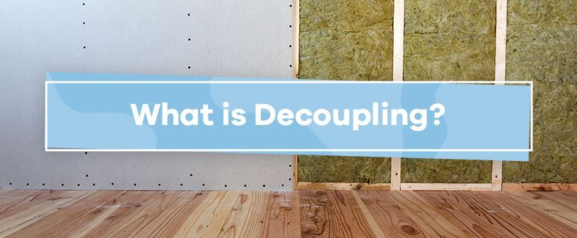 What Is Decoupling Soundproof Cow In 2020 Sound Proofing Garage Storage Systems Soundproofing Material