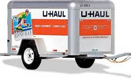 U Haul Trailer Bing Images With Images Cargo Trailers
