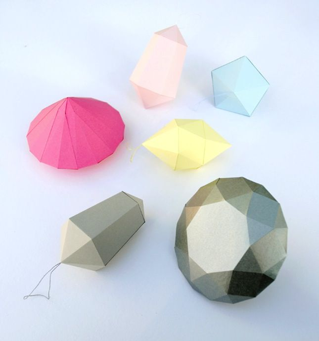 Make Paper Diamonds And Gems With This Origami Tutorial