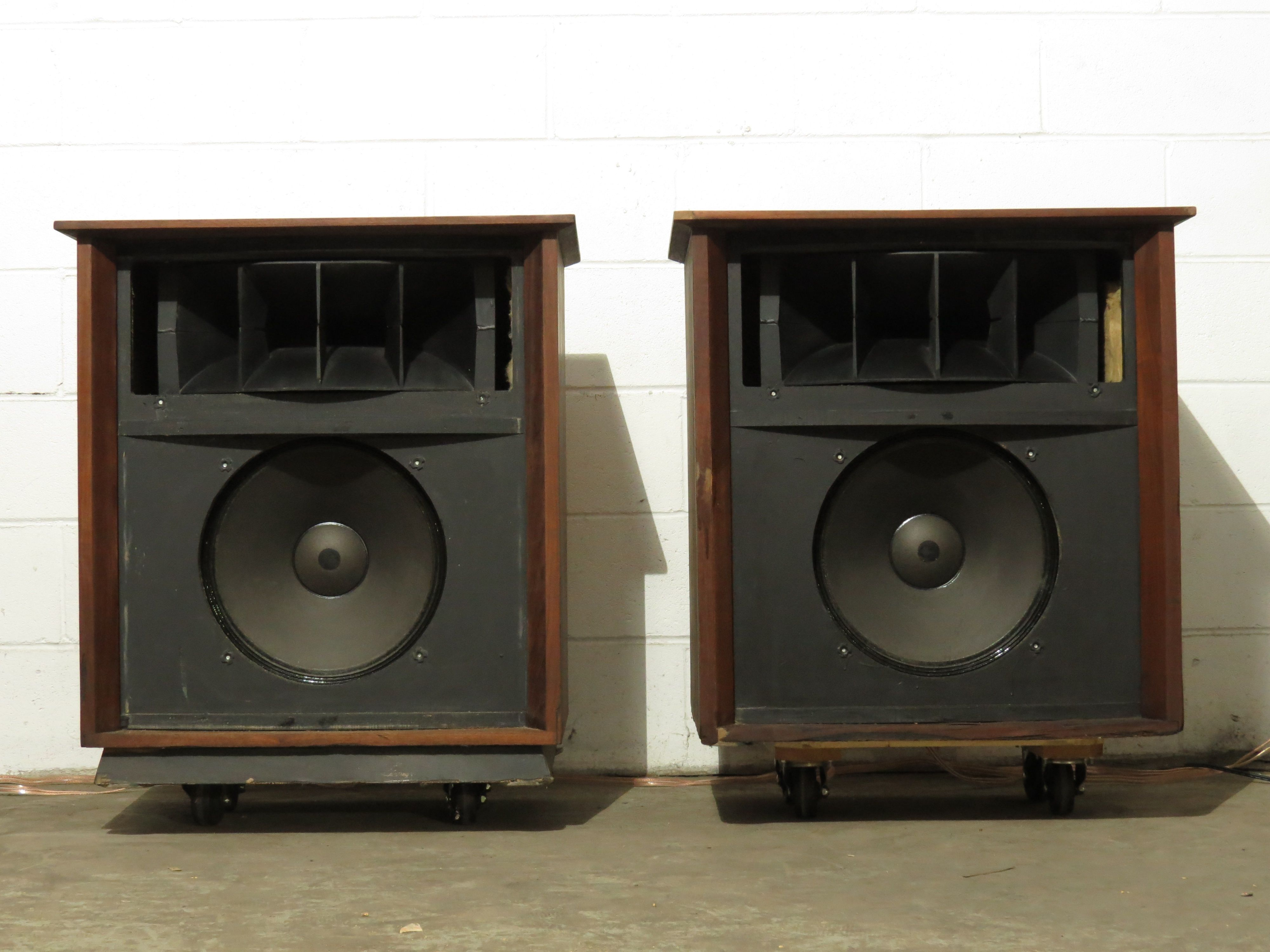Altec Valencia speakers 416 woofers & 806A horn drivers | mine