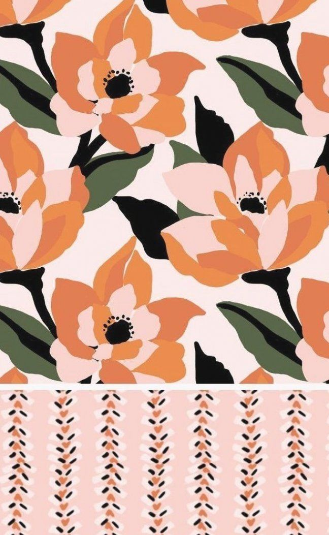 Surface pattern design by Pattern and Design from the Poppy Collection #patternanddesign #surfacepatterndesign #textiledesign #patternrepeat #designcollection #fabricdesigns #yardageprints