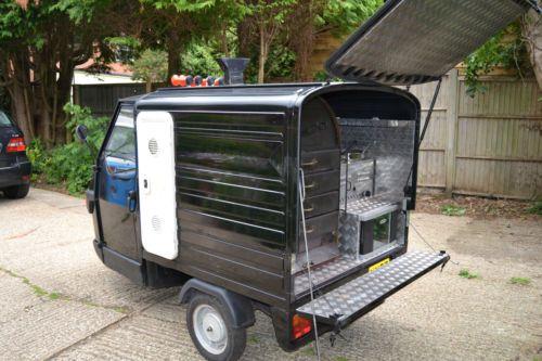 details about 2007 piaggio ape 50 potato van tuk tuk. Black Bedroom Furniture Sets. Home Design Ideas
