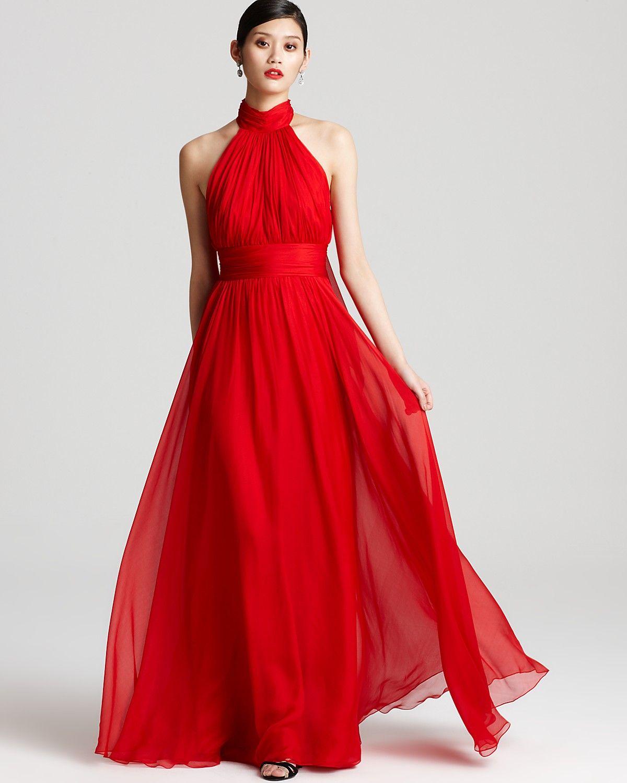 Badgley Mischka Gown Halter Gown With Cape Bloomingdale S Badgley Mischka Gowns Gowns Badgley Mischka Dress [ 1500 x 1200 Pixel ]